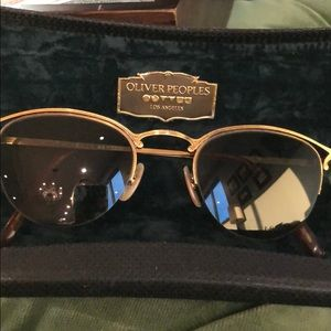Vintage Oliver Peoples Sunglasses